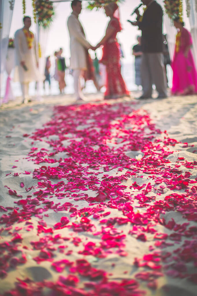 Destination Wedding in Goa Beachshack Wedding in Goa of Sophie and Russell planned by Memorable Indian Weddings 10