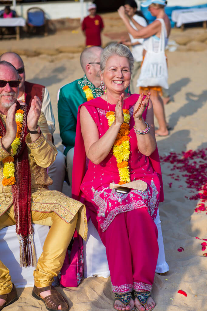 Destination Wedding in Goa Beachshack Wedding in Goa of Sophie and Russell planned by Memorable Indian Weddings 12
