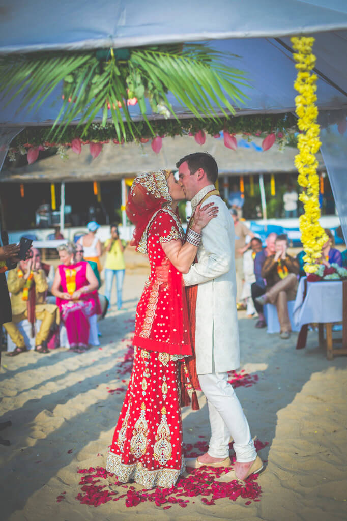 Destination Wedding in Goa Beachshack Wedding in Goa of Sophie and Russell planned by Memorable Indian Weddings 13