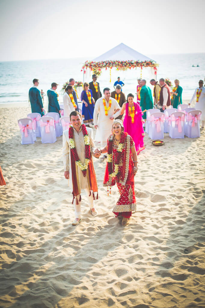 Destination Wedding in Goa Beachshack Wedding in Goa of Sophie and Russell planned by Memorable Indian Weddings 14