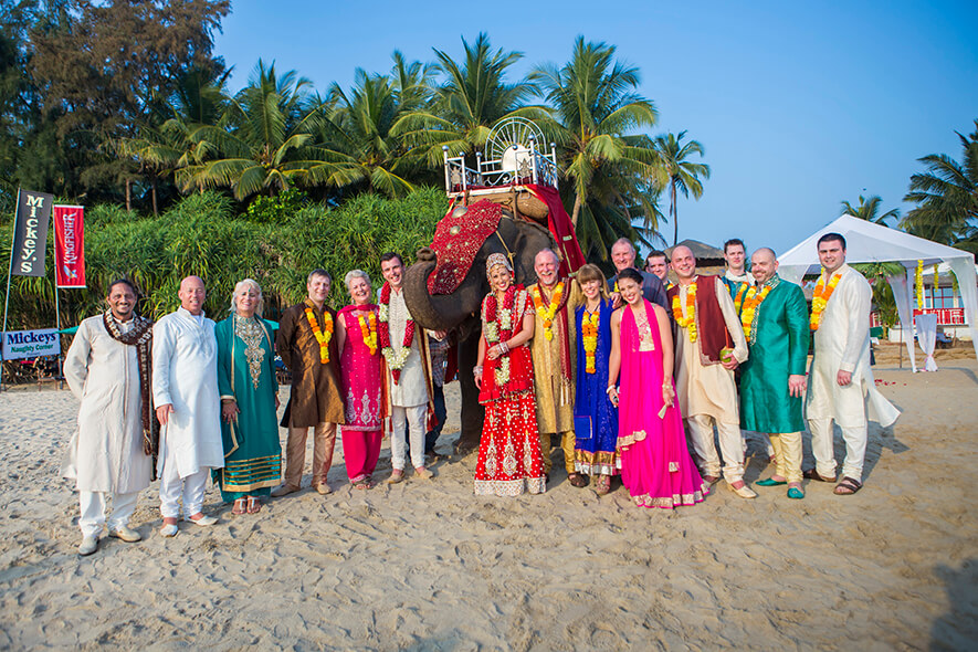 Destination Wedding in Goa Beachshack Wedding in Goa of Sophie and Russell planned by Memorable Indian Weddings 15