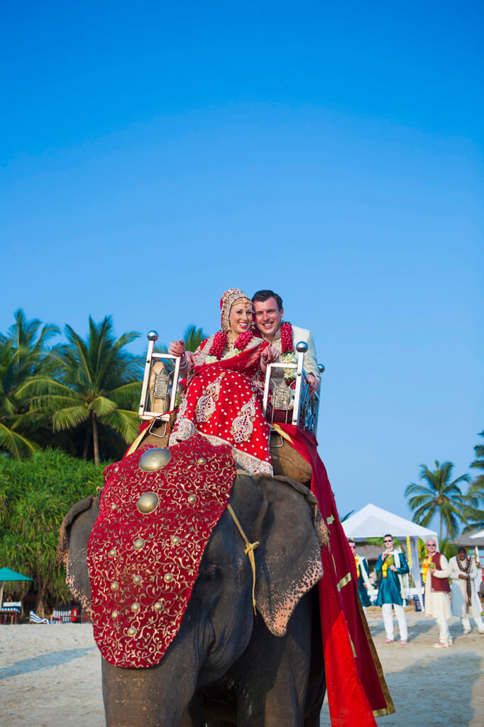 Destination Wedding in Goa Beachshack Wedding in Goa of Sophie and Russell planned by Memorable Indian Weddings 16