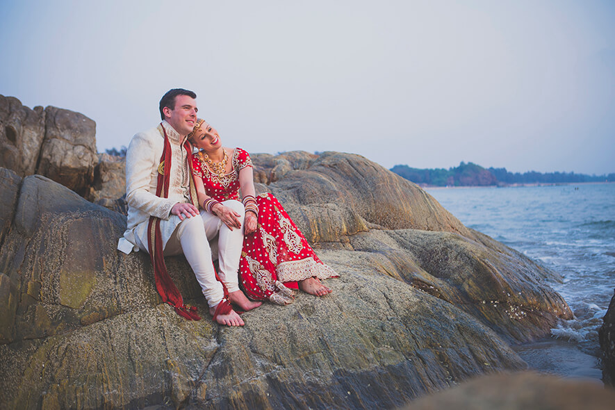 Destination Wedding in Goa Beachshack Wedding in Goa of Sophie and Russell planned by Memorable Indian Weddings 17