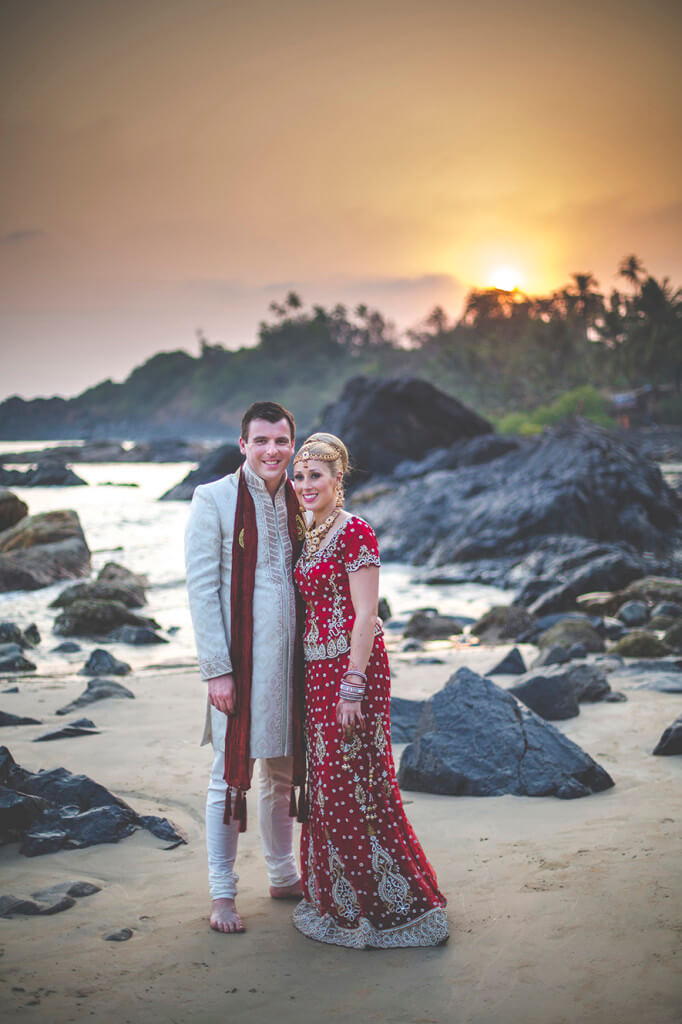 Destination Wedding in Goa Beachshack Wedding in Goa of Sophie and Russell planned by Memorable Indian Weddings 18