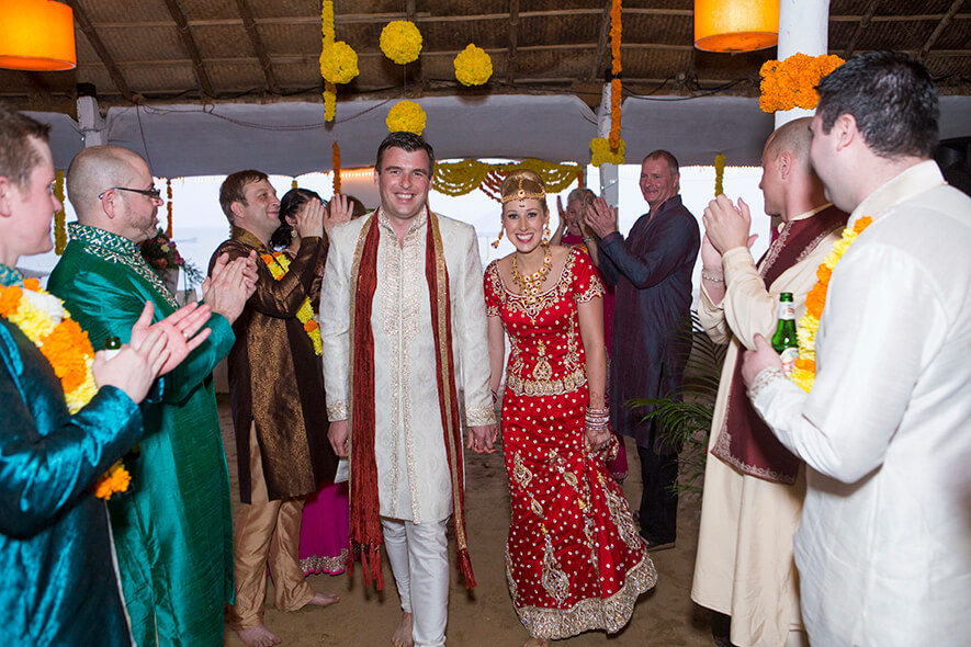 Destination Wedding in Goa Beachshack Wedding in Goa of Sophie and Russell planned by Memorable Indian Weddings 19