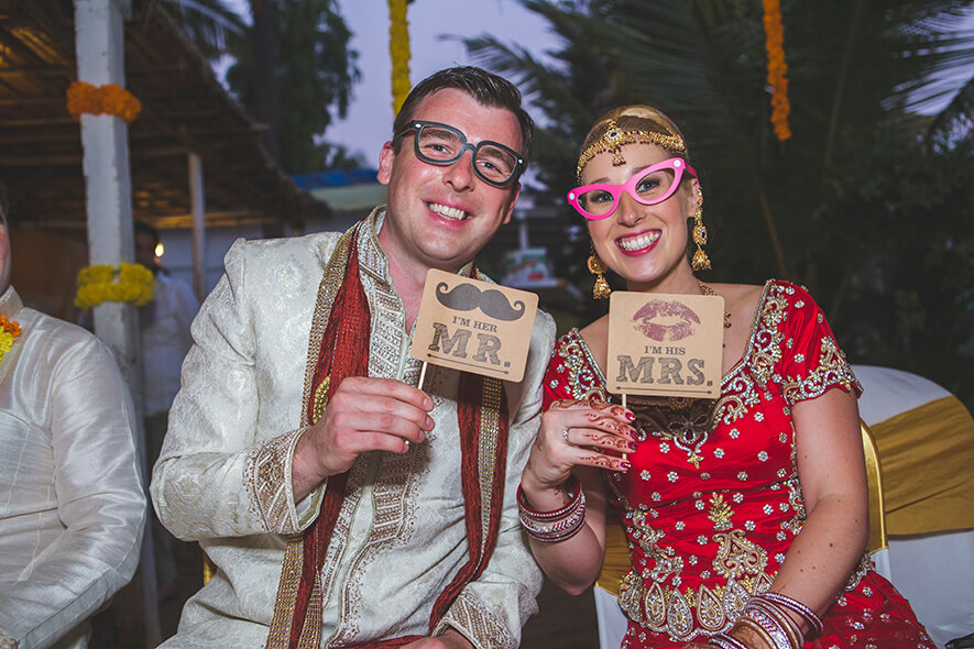 Destination Wedding in Goa Beachshack Wedding in Goa of Sophie and Russell planned by Memorable Indian Weddings 20