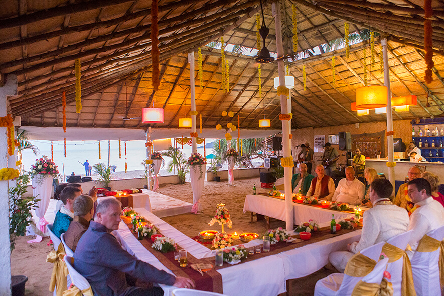 Destination Wedding in Goa Beachshack Wedding in Goa of Sophie and Russell planned by Memorable Indian Weddings 21