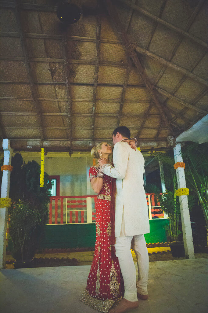 Destination Wedding in Goa Beachshack Wedding in Goa of Sophie and Russell planned by Memorable Indian Weddings 24