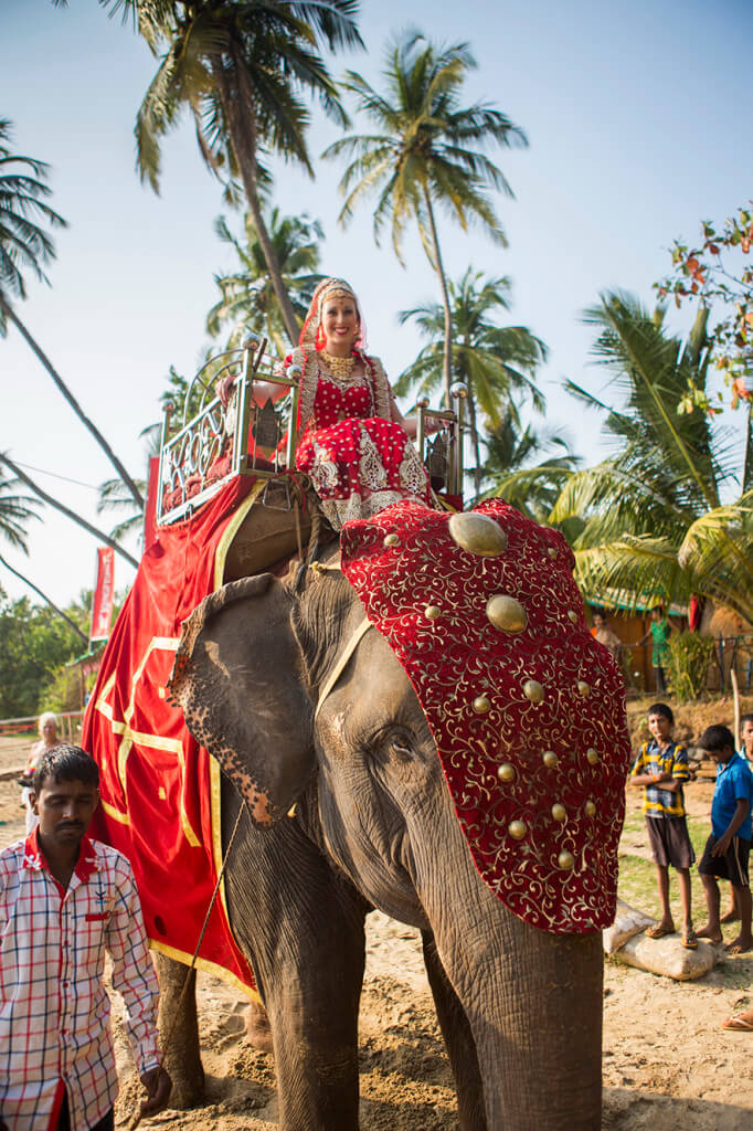 Destination Wedding in Goa Beachshack Wedding in Goa of Sophie and Russell planned by Memorable Indian Weddings 5