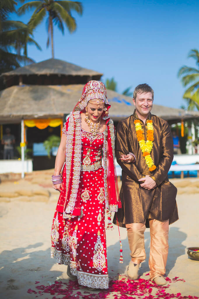 Destination Wedding in Goa Beachshack Wedding in Goa of Sophie and Russell planned by Memorable Indian Weddings 6