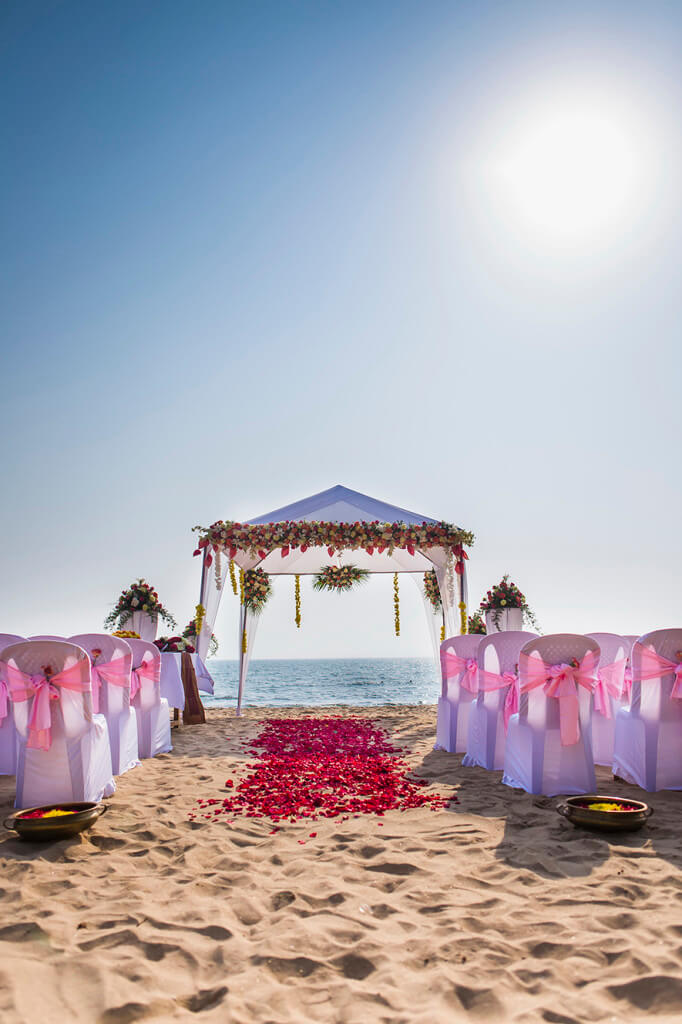 Destination Wedding in Goa Beachshack Wedding in Goa of Sophie and Russell planned by Memorable Indian Weddings 7