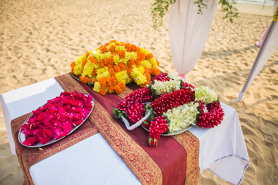 Destination Wedding in Goa Beachshack Wedding in Goa of Sophie and Russell planned by Memorable Indian Weddings 8