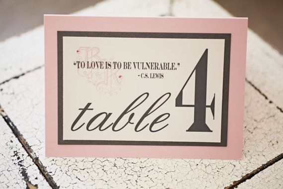 7 ways to incorporate quotes in your wedding and sprinkle the magic table decor 7 ways to incorporate quotes in your wedding and sprinkle the magic of words junglespirit Gallery