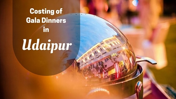 Costing of Wedding Dinners in Udaipur Destination Wedding Memorable Indian Weddings
