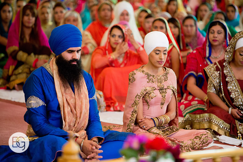 A Sublime Sikh Wedding Reminding Us That A Wedding Above