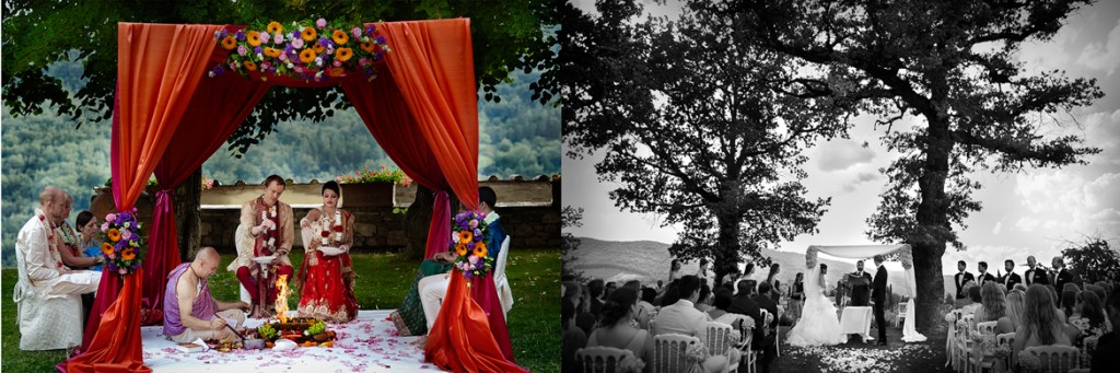 Real Indian Wedding in Tuscany of Tina and Chris captured by David Bastianoni featured on Memorable Indian Weddings India Wedding Planner9