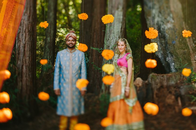 marigold inspired indian wedding featured on memorable indian weddings photography by third element photo11