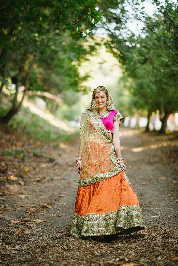 marigold inspired indian wedding featured on memorable indian weddings photography by third element photo6