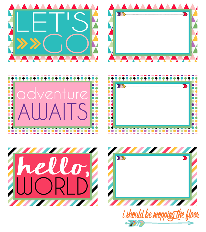 printable luggage tags i shold be mopping floor