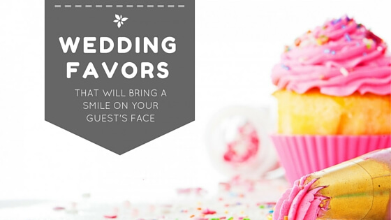 Wedding Favors that are classis, timeless and thoughtful