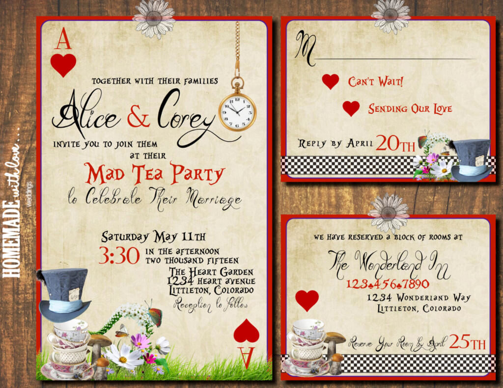 A Mad Hatter\'s themed tea party | Memorable Indian Weddings