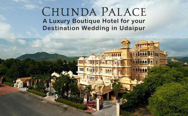 Chunda Palace Boutique hotel for destination wedding in Udaipur (1)