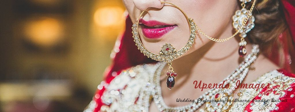 bridal nose ring for an indian bride
