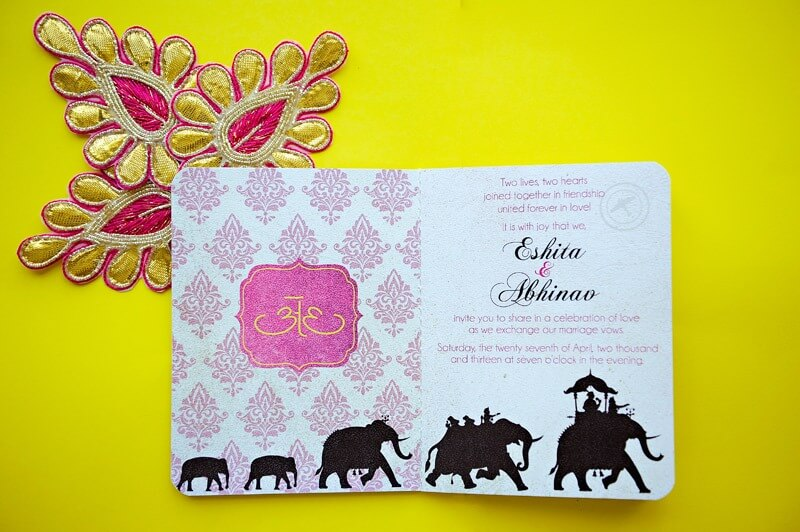 Destination Wedding Invitation Jaipur Rajasthan by Creative Box Dubai (2)