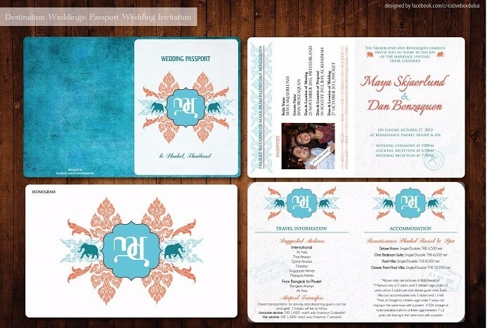 Destination Wedding Invitation Passport (2)