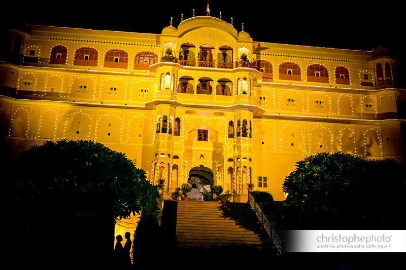 Destination Wedding at Samode Palace India captured by Christophe Visuex1 (1)