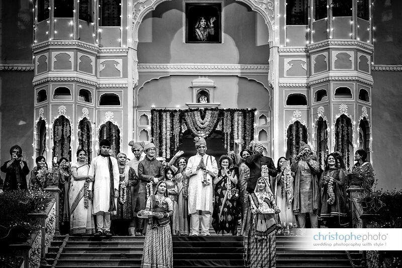 Destination Wedding at Samode Palace India captured by Christophe Visuex5 (1)