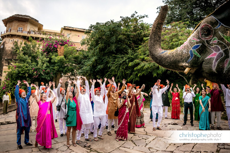 Destination Wedding at Samode Palace India captured by Christophe Visuex6 (2)