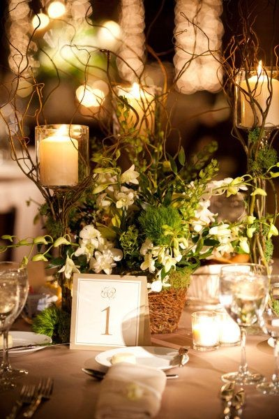 Forest inspired. Elegance on the table!