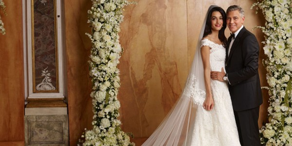 George Clooney and Amal Alamuddin wedding in italy