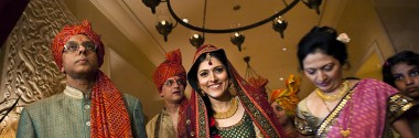 An Indian Destination Wedding in Dubai shot by Wedlocks India