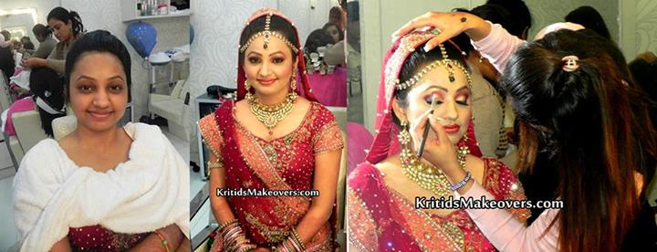 Indian Make Up Artist KirtiDs covered by Memorable Indian Wedding Dot Com (16)