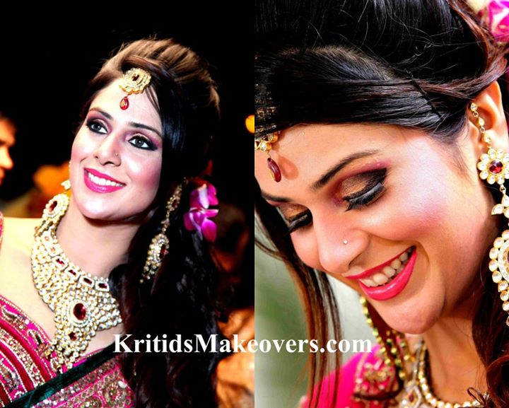 Indian Make Up Artist KirtiDs covered by Memorable Indian Wedding Dot Com (8)