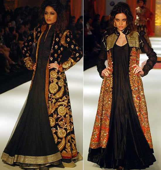 Indian Wedding Jacket Lehengas (1)
