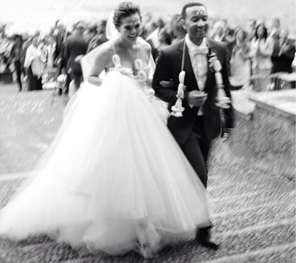 John Legend and Chrissy Teigen Wedding in Italy