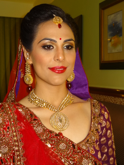 Make up by Chandni Singh9