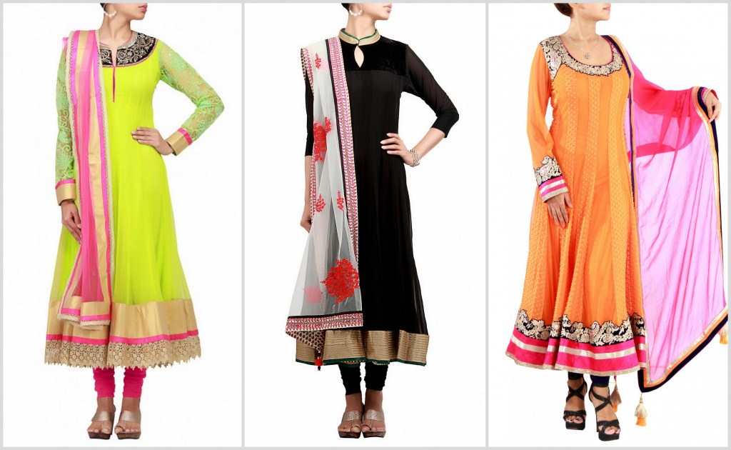 Must haves for Bridal Trousseau Anarkalis Kurtis Lehnga Sarees Sarees Kalki Fashion featured at Memorable Indian Weddings (3)