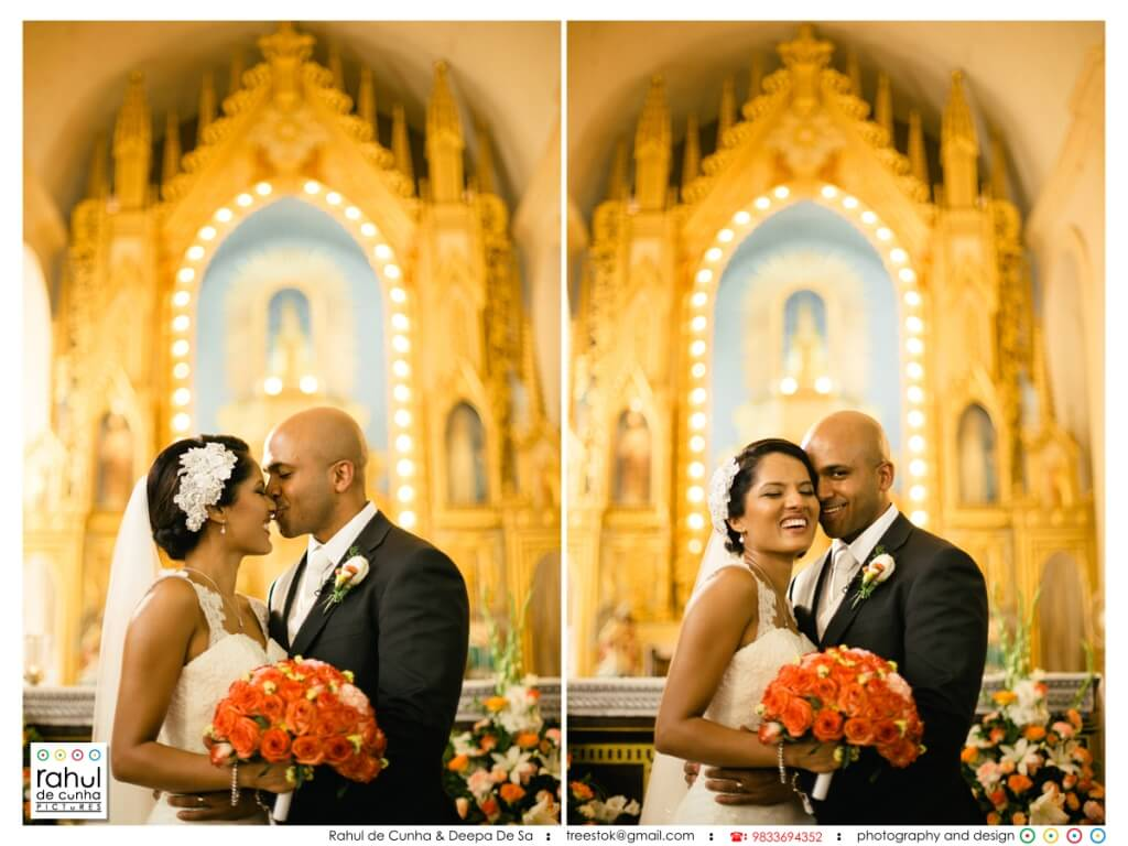 Real Wedding in Goa featured on Memorable Indian Weddings - Preeti and Lionel