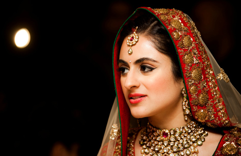Real Bride, Bridal Make Up by celebrity Artist Namrata Soni