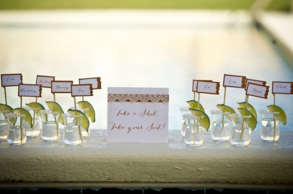 Shot Bar for your Destination Wedding