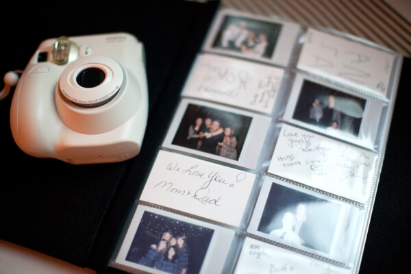 The ever so charming Polaroid photos for your destination wedding
