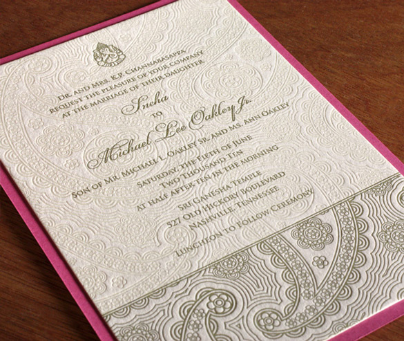 Such a lovely combination of pastels, Paisley Letterpress