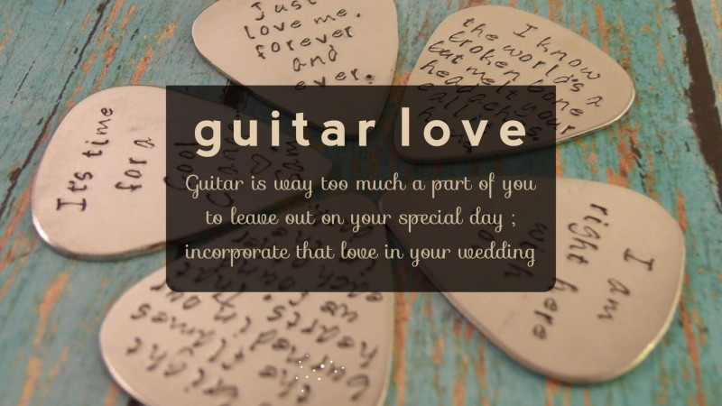 guitar featured image 7 ways to infuse guitar in your wedding