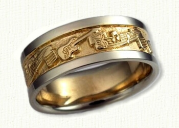 Via Custom Wedding Rings