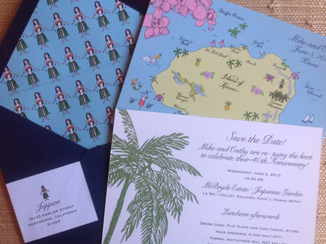 Destination Wedding Invitation Set by Laura of L H calligraphy (1)