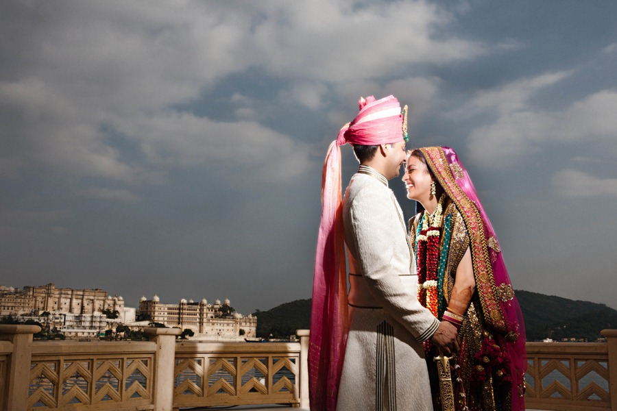 The leela palace udaipur wedding dress